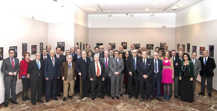 Homenaje del Circulo Mercantil e Industrial de Sevilla a antiguos miembros de la Junta Directiva y a Socios de Honor con motivo del 150 Aniversario Fundacional de la entidad.