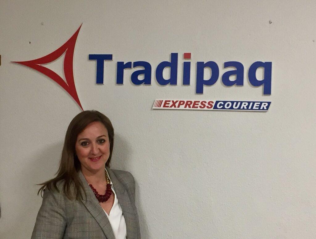 Marga Rincón, Gerente de la empresa de transporte y mensajería TRADIPAQ.