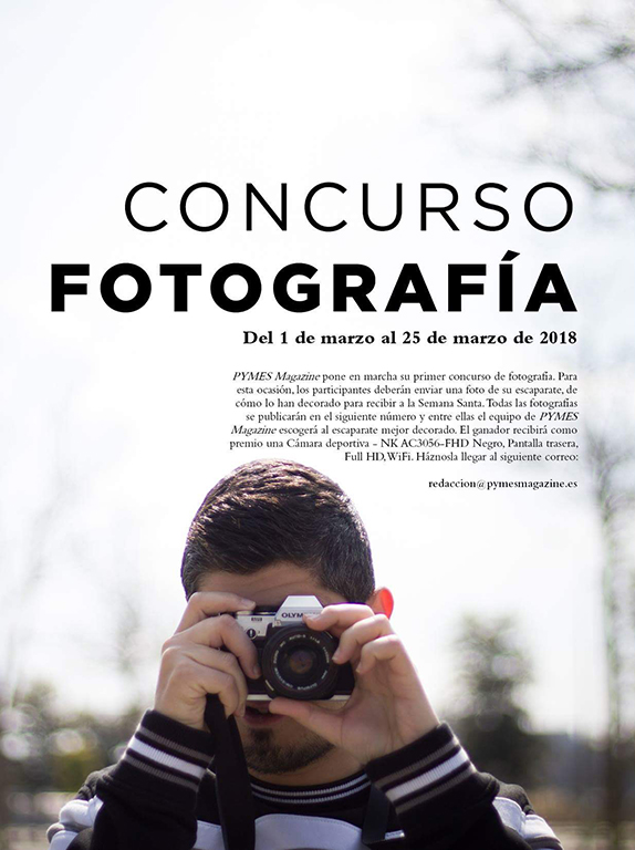 Concurso de Fotografía de escaparate decorado para Semana Santa.