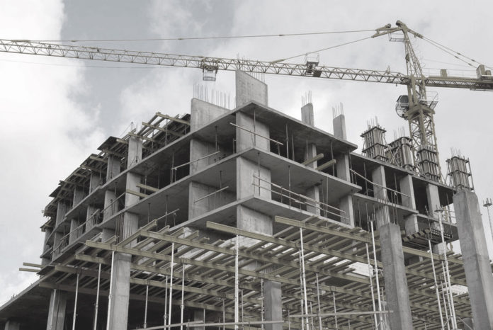 Aumento de la producción de cemento.