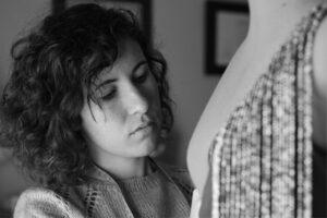 Rocío Llaca, diseñadora de moda flamenca.