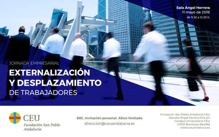 Expertos debaten en CEU Andalucía sobre Externacionalización y Desplazamiento de trabajadores.