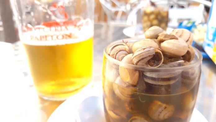 Las ventajas de comer caracoles.