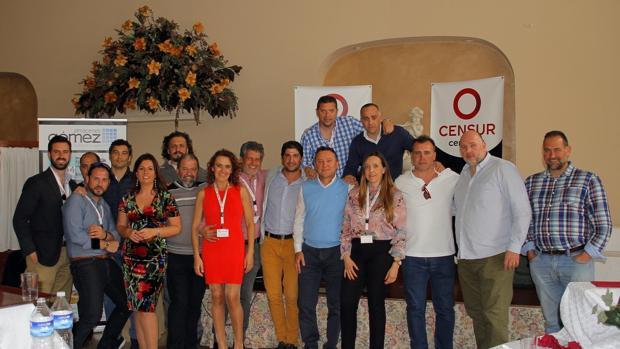 Los empresarios de Utrera se agrupan a través del colectivo Censur.