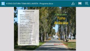 """Listado sedes de jornada """"Toma Bellavista""""."""