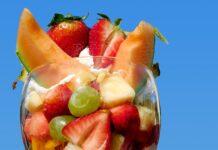Macedonia de frutas para refrescarnos.