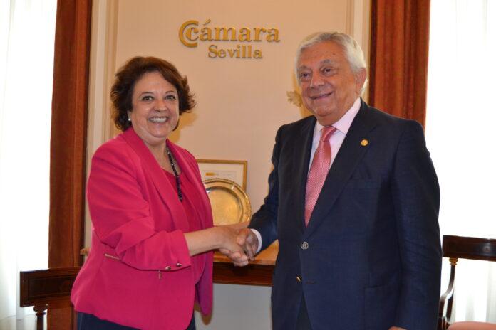 La Cámara y el Ayuntamiento de Sevilla incentivarán la creación de empresas del sector aeroespacial.