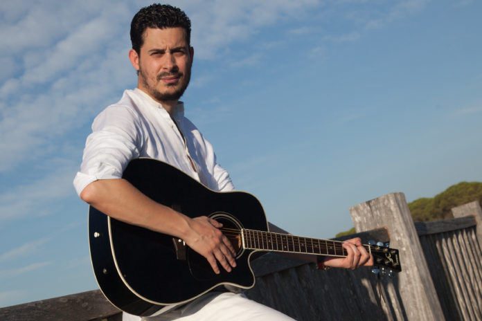 David Clavijo, músico, guitarrista y compositor.