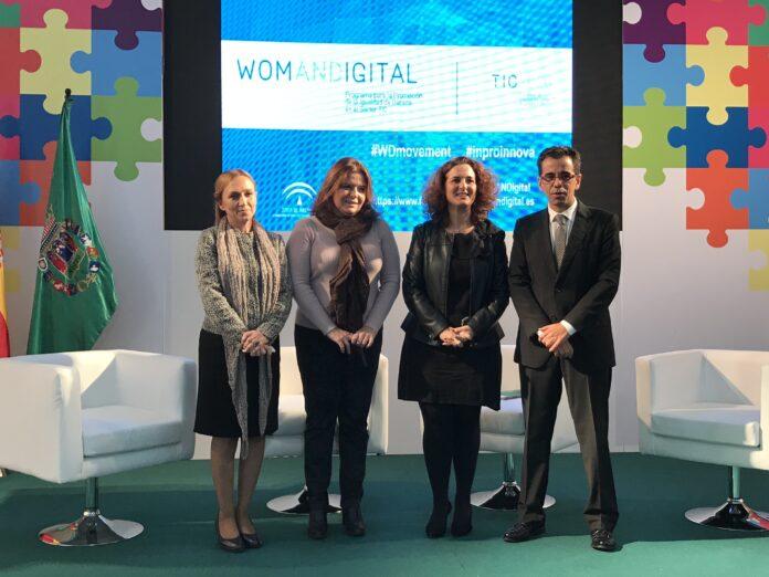 Empleo y Diputación de Sevilla se adhieren a´WomANDigital´ para impulsar la igualdad de oportunidades en el sector TIC.